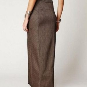 ffb78194a Free People Skirts - ❤️FREE PEOPLE High Waist Sculptor Maxi Skirt